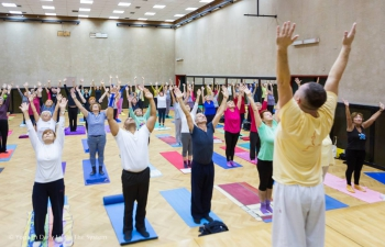 Yoga for Senior Citizens, 10 October 2017