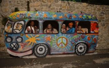 Rajasthani music and dance troupe performance in Croatia