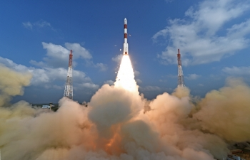 ISRO Launched a World Record 104 Satellites, 15 Feb 2017
