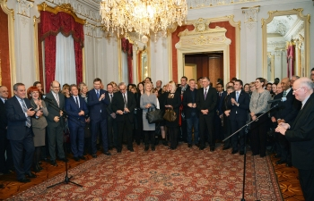 New Year's diplomatic reception by Zagreb Mayor, 19 Jan 2017