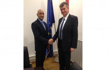 Meeting with Minister of Health Mr. Milan Kujundži?, 11 Jan 2017