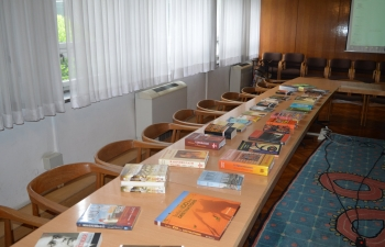 Ambassador Arindam Bagchi visited and donated books on India to the Faculty of Humanities and Social Sciences in Zagreb on 15 May 2019