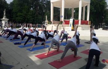 International Day of Yoga in Bjelovar on 16 June 2019