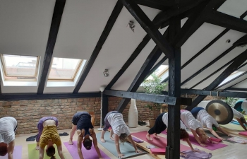 International Day of Yoga in Sl. Brod Croatia on 16 June 2019