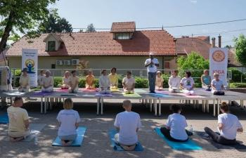 International Day of Yoga in Samobor on 16 June 2019