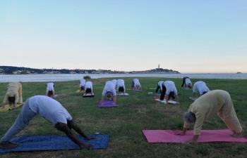 International Day of Yoga in Rovinj on 20 June 2019
