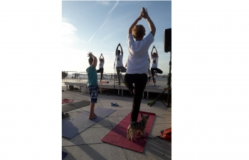 International Day of Yoga in Zadar on 18 June 2019