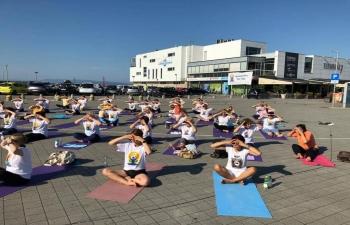 International Day of Yoga in Rijeka on 21 June 2019