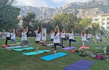 International Day of Yoga in Korcula on 24 June 2019