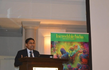 Tourism Workshop organized by Embassy of India in cooperation with Emirates Airlines in Zagreb on 2 July 2019