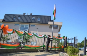 73rd Independence Day of India was celebrated by Embassy of India on 15 Aug 2019