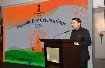National Day Reception on 24 January 2020 to celebrate 71st Republic Day of India