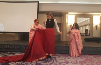 Indian cultural event organized in Zagreb by International Women's Club Zagreb in cooperation with the Embassy on 11 February 2020