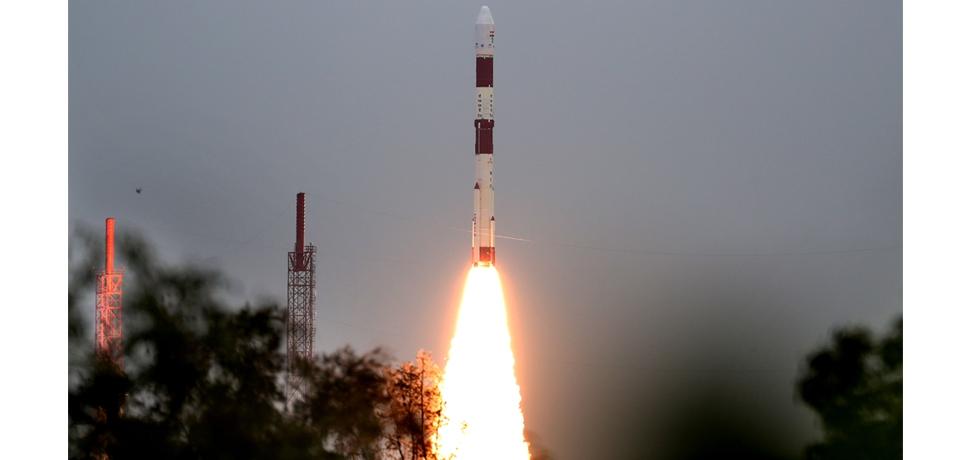 ISRO's PSLV-C49 Lift-off