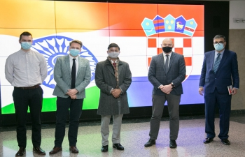 H.E. Ambassador Raj Kumar Srivastava visited the Faculty of Electrical Engineering and Computing, University of Zagreb and discussed potential bilateral cooperation with universities of India, in the form of exchange of students, research & teaching staff and R&D cooperation