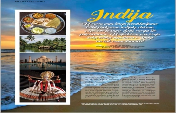 India's ️rich cultural heritage & vibrant tourist destinations are viewable in the new edition of Place2go - magazin za suvremenog putnika, which is also the largest Croatian Tourism Fair. Looking forward to participate in 2021 at Place2go Int. Tourism exhibition in Zagreb.