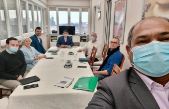 1st AYUSH Cell meeting in 2021 was held with participation of distinguished Croatian experts in the field of Ayurveda and Yoga. Discussed activities which will increase awareness about Indian traditional medicine system among Croatian community & strengthen #P2P connections.