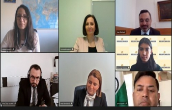 Invest India - doing business in the Indian market' webinar, conducted by GEREE team in partnership with the Embassy of India in Croatia, Croatian Chamber of Economy, Indian-Croatian Business Council, & the Indijsko Hrvatski Poslovni Klub showcased opportunities in various sectors in #NewIndia