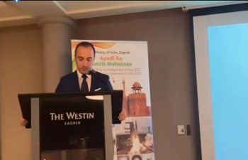Listen to impressive speech on his ITEC program experience in India by Prof. Miro Hegedić, Assistant Professor at the Faculty of Mechanical Engineering and Naval Architecture