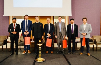 Formal inauguration ceremony of the 1st International Ayurveda & Yoga Conference was held in Zagreb on 4th October 2021.