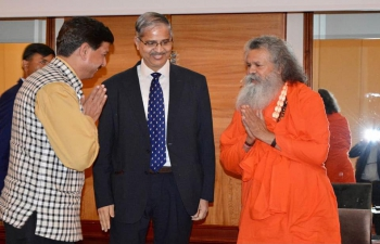 Coincidentally the presence of Mahamandaleshwar Paramhans Swami Maheshwarananda of Yoga in Daily Life in Zagreb resulted in a surprise Keynote Speech during the last day of the 1st International Ayurveda & Yoga Conference in Croatia.