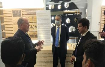 Ambassador Srivastava and the Ministry of AYUSH delegation visited the Muzej grada Rijeke (the City Museum of Rijeka) as part of a working visit to the city of Rijeka.