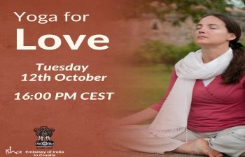 """Yoga ZOOM Session, in collaboration with Isha Foundation, with the topic """"Yoga for love"""". In every relationship, you experience moments of true love, but do they seem to come and go? What if you could maintain this quality always? These practices can: Help alleviate psychological disturbance, excessive fear, and nightmares; Balance body and mind; Improve weak constitutions; Greatly support children with attention disorders; Improve the ability to relate to surroundings and people."""